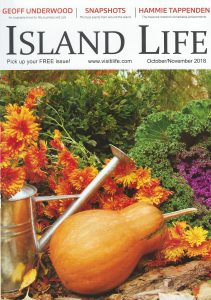 Island Life - front page October/ November 2018